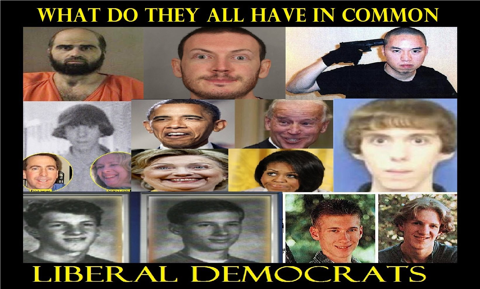 ALL of These Recent Mass Murderers Are DEMOCRATS