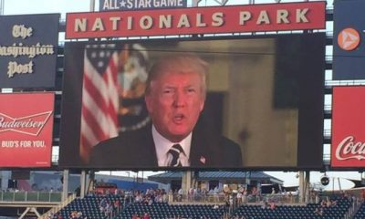 Democrats Heckle and Boo President Trump at Annual Unity Baseball Game
